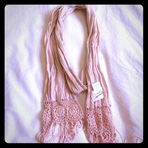 Bundle - a & f scarf and Anthropologie check scarf