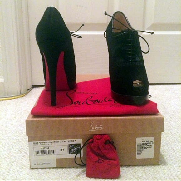 43ad7816483 Christian Louboutin- Miss Poppins 140mm size 37 NWT