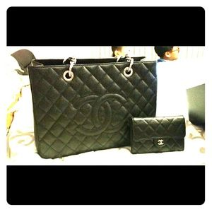 Chanel GST in silver hardware