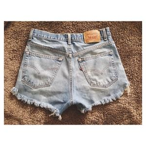 Levi's Jeans - (SOLD)✖️Levi High-Waisted Shorts 2