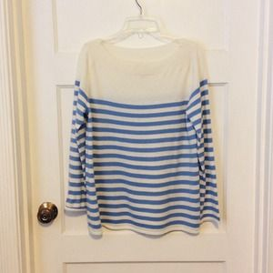 GAP Baby Blue Striped Sweater