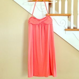 J.Crew Beach Cover Up - Coral Dress Sz Xs