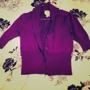 Purple Blazer