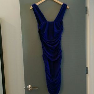 Nicole Miller Dresses - Nicole Miller Sapphire Blue Dress
