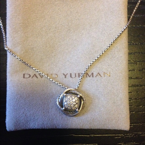 18 off david yurman jewelry david yurman diamond infinity david yurman diamond infinity pendant necklace mozeypictures Choice Image