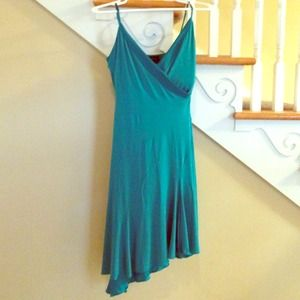 Bebe Teal Dress Sz Xs
