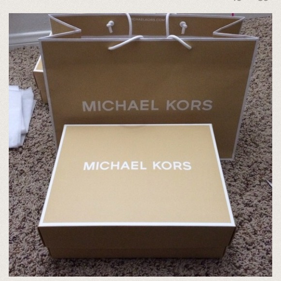 Michael Michael Kors Michael Kors Box And Paper Bag Size 8 Quot X 11 Quot From Lily S Closet On Poshmark