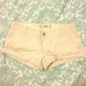 Hollister Light Beige Shorts