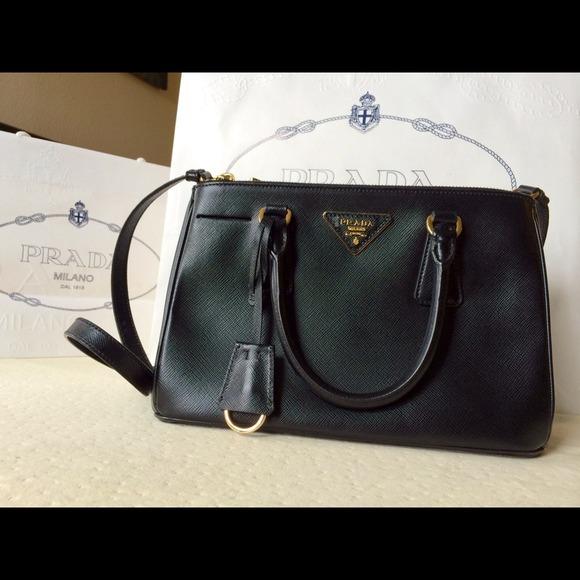 0aa6a80b76f Prada Bags   Authentic Saffiano Mini Lux Nero Color   Poshmark