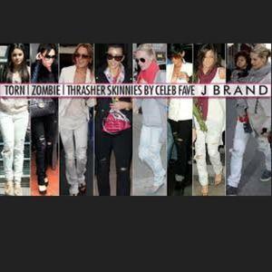 J Brand Jeans - J Brand Thrasher skinnies 3