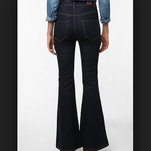 68% off Urban Outfitters Denim - BDG denim groupie flare high ...