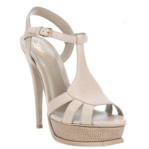 Yves Saint Laurent Nude Tribute Heels