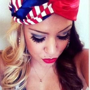 🇺🇸flag headband