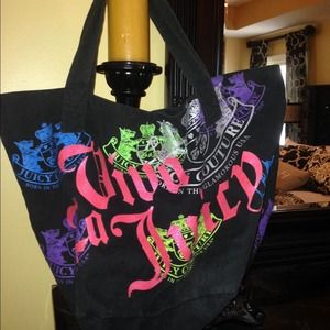 Authentic EXTRA Large Juicy Couture Tote Bag
