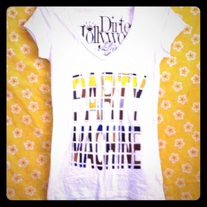 "Dirtee Hollywood Tops - 🎀SALE!!🎀Dirtee Hollywood Block ""Party Machine"" T"