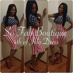 maxi dress 4th of july pics