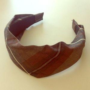 Banana Republic Plaid Headband Hair Accessory