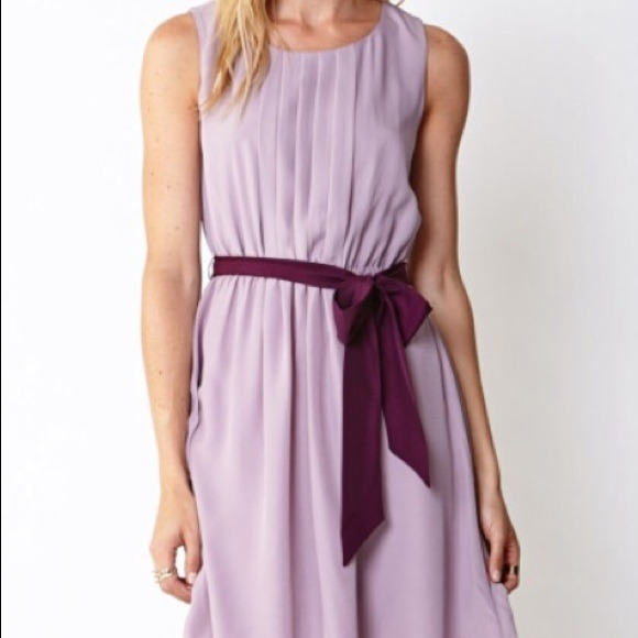 Forever 21 long purple dress