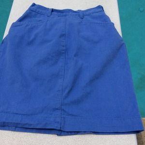 🌞 Blue Skirt
