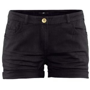H&M Black Shorts