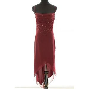 Dresses & Skirts - *FREE W/ PURCHASE* Chiffon dress w/ rhinestones