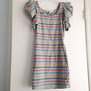 Forever 21 Striped Bodycon Dress, Size S