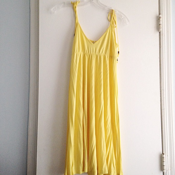 Forever 21 Dresses & Skirts - Forever 21 Yellow Dress, Size S