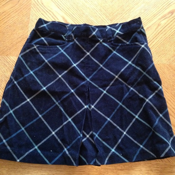 GAP Other - Gap Kids Corduroy Plaid Skirt, Size 12