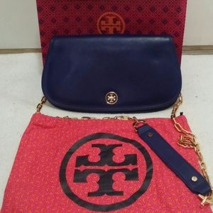 REDUCEDTory Burch Saffiano logo (Retail$395)