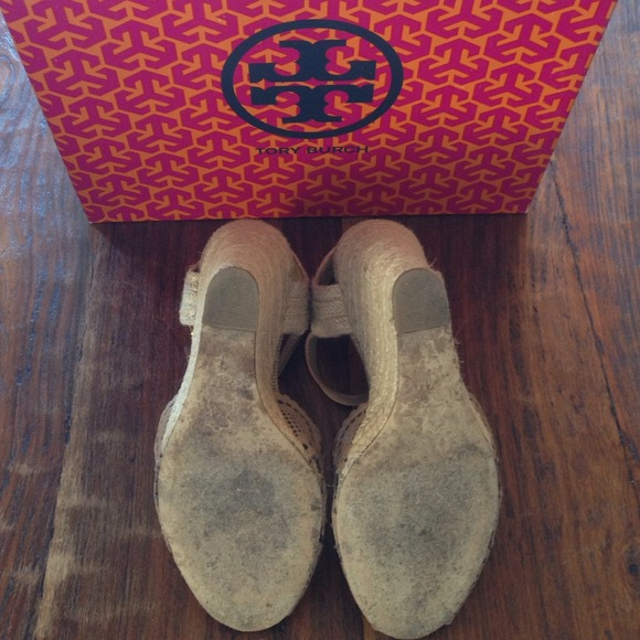 Tory Burch Shoes - Tory Burch Gia Wedge Espadrille