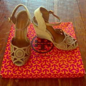 Tory Burch Gia Wedge Espadrille