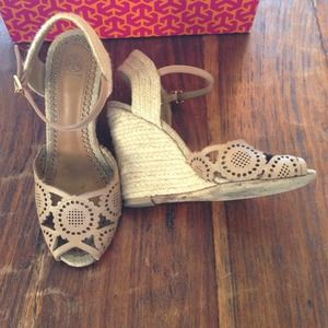 Tory Burch Shoes - Tory Burch Gia Wedge Espadrille 2