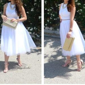 Dresses - White tutu. 2