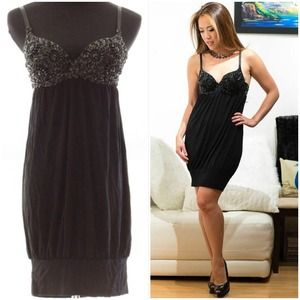 Forever 21 Dresses & Skirts - *WAS $25* FOREVER 21 beaded bra top dress