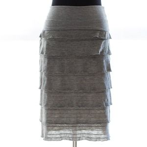 *WAS $22* MAX STUDIO super-soft tiered skirt
