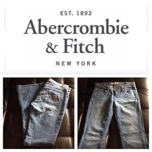 Abercrombie & Fitch Stretch Jeans Sz 2R