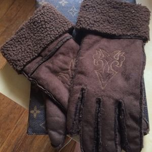 Brown Jessica Simpson  Gloves