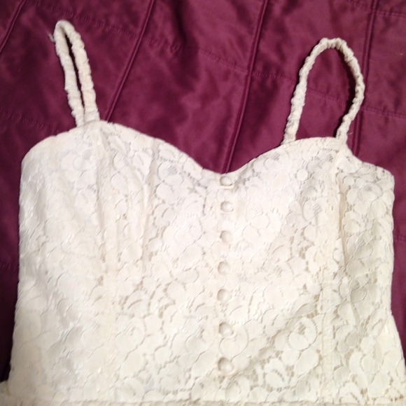 ... - Cream lace Talula dress from Aritzia from Mu0026#39;s closet on Poshmark