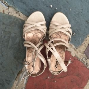 Mudd Shoes - Nude Sandals