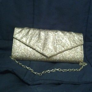 Gorgeous glittery clutch