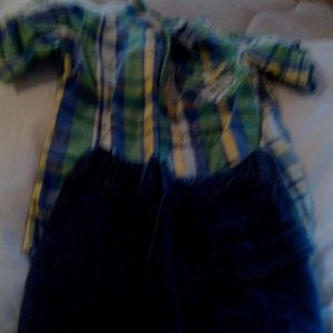 Other - 18 months boy button down and shorts