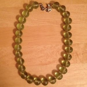 Jewelry - 💗 gorgeous green marble necklace💘