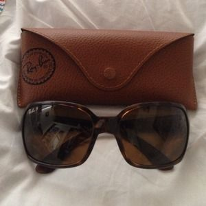 Authentic Ray-Ban polarized sunglasses