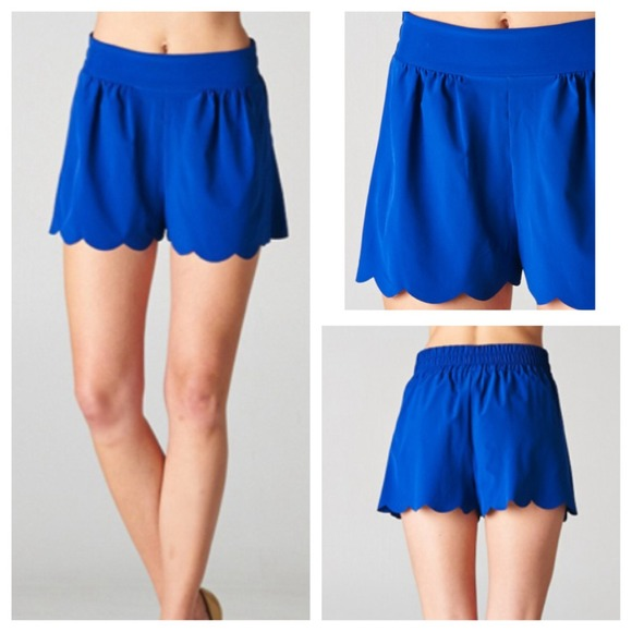 Scallop Hem Shorts Scalloped Hem Shorts 3