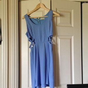 Light Blue Solemio Dress