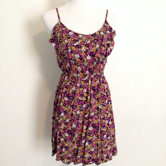 Cotton On Dresses   Skirts - 🌻🌻Cotton On Purple Floral Dress faaec5151