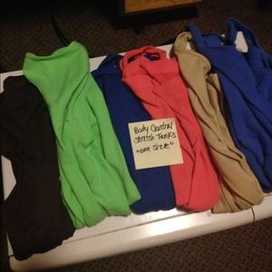 Tops - Stretch tank tops