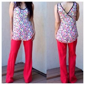 Polka dot top SIZE SMALL AND M ONLY