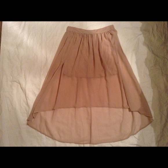 60 wilster dresses skirts light pink high low