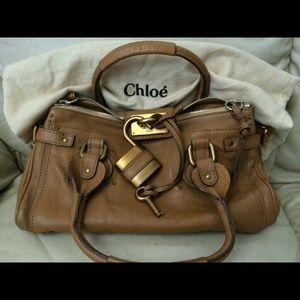 Chloe - FLASH SALE Chloe Paddington Black Leather Handbag from ...